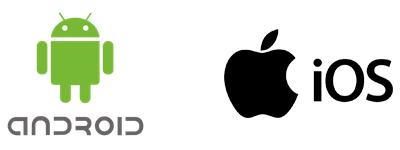 Logos Android e IOS