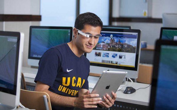 Informática UCAM gafas Google